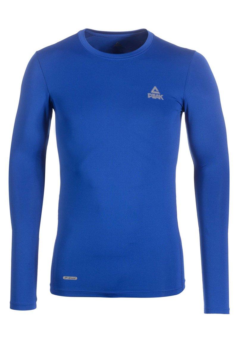 PEAK - Long sleeved top - blau
