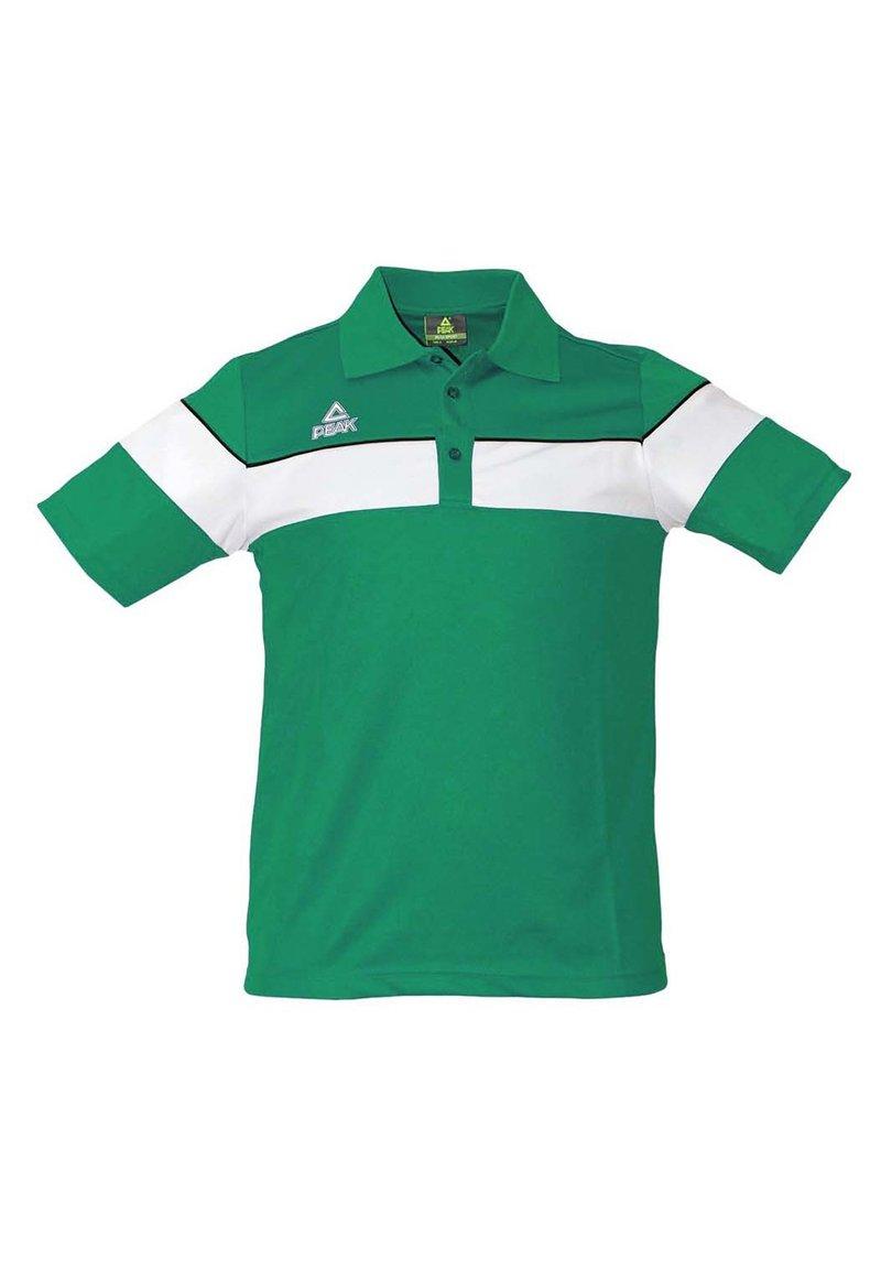 PEAK - Polo shirt - vert-blanc
