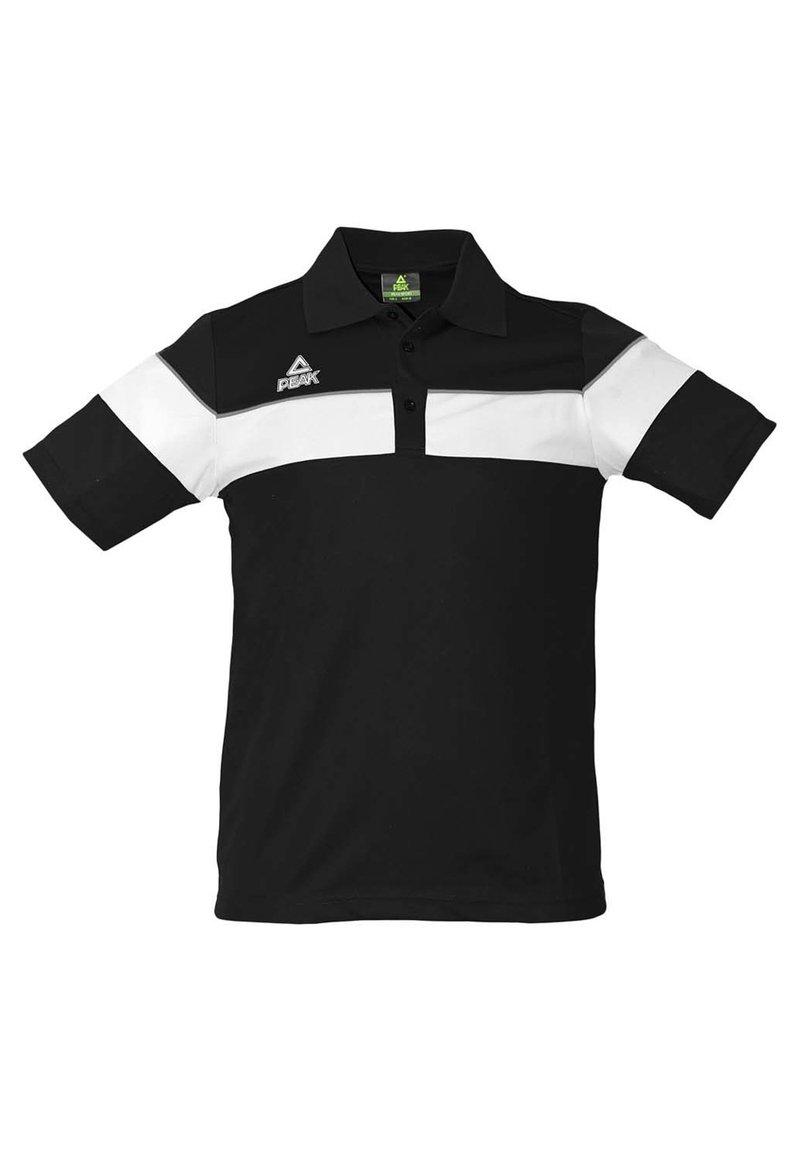 PEAK - Polo shirt - noir-blanc