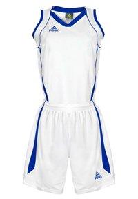 PEAK - Sports shorts - blanc-bleu - 0