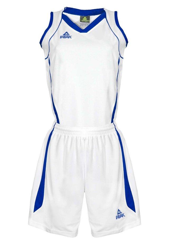 Sports shorts - blanc-bleu