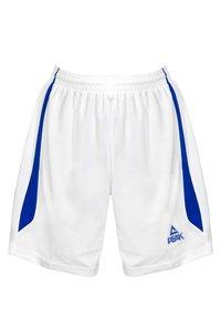 PEAK - Sports shorts - blanc-bleu - 4