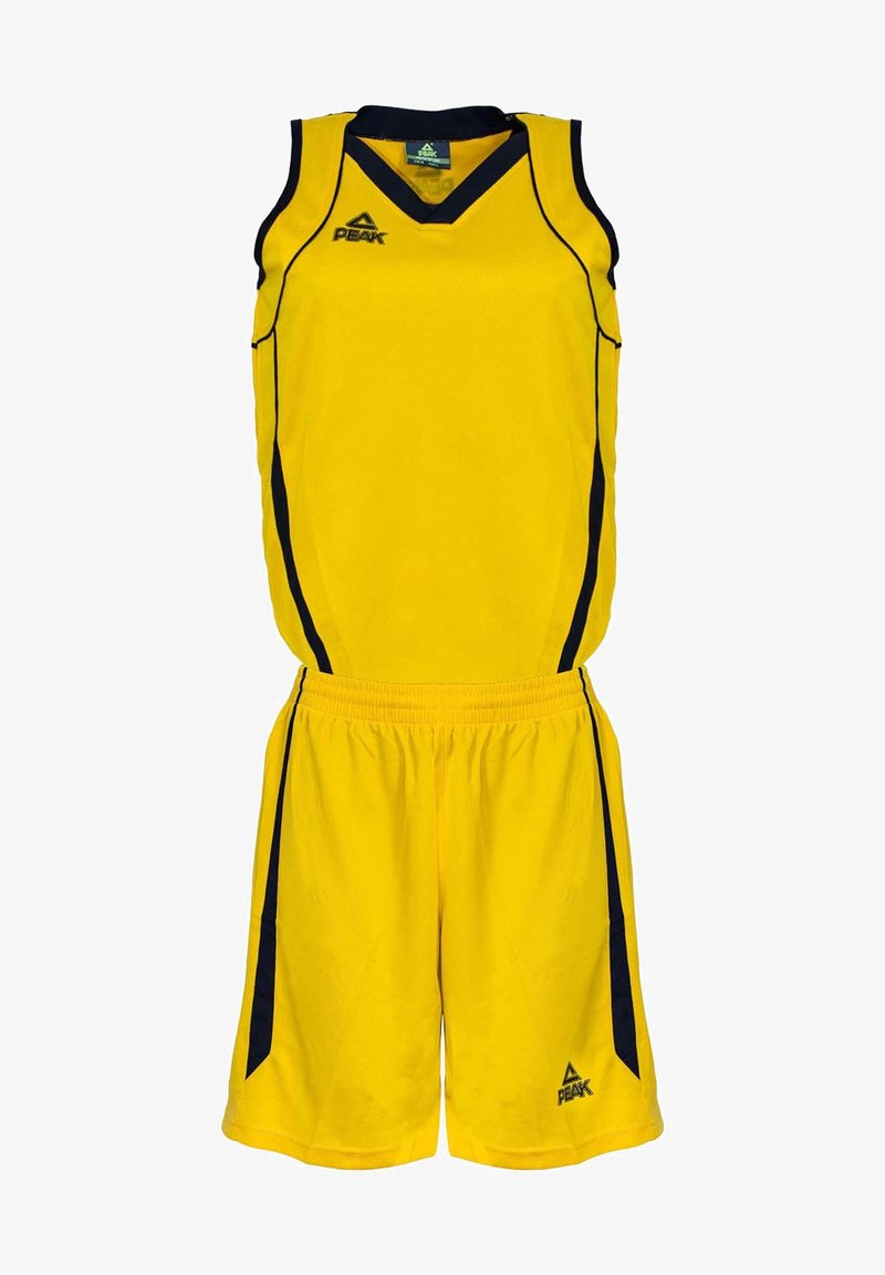 PEAK - Sports shorts - jaune/noir