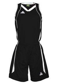 PEAK - Sports shorts - noir-blanc - 0