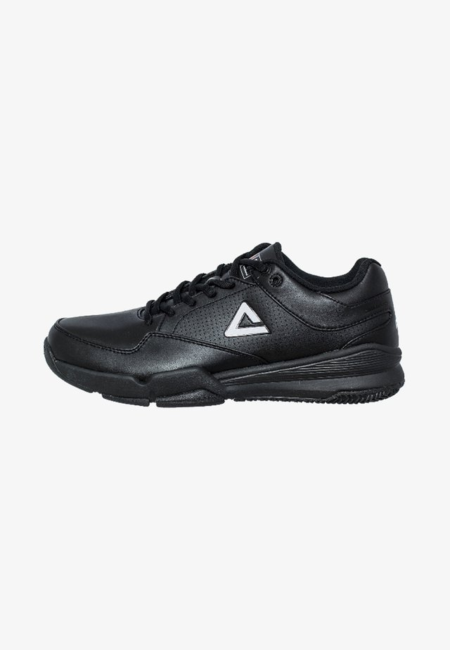 PEAK BLACK FIBA EDITION - Basketball shoes - black