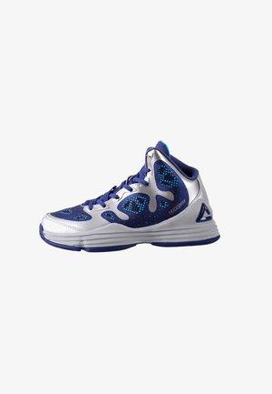 GALAXY - Basketbalschoenen - silver/marine