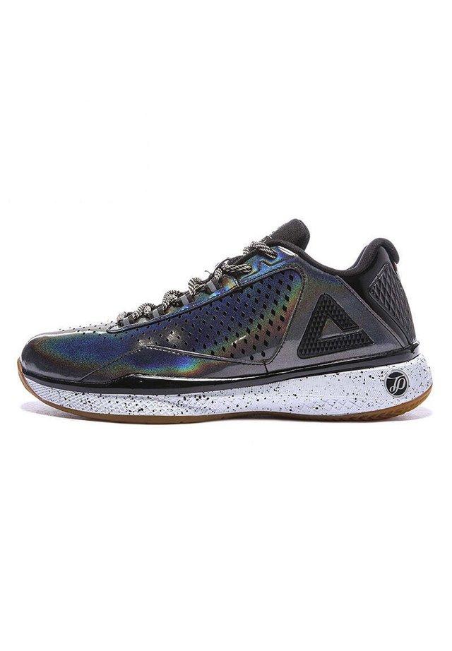 Basketbalschoenen - zwart-zilver