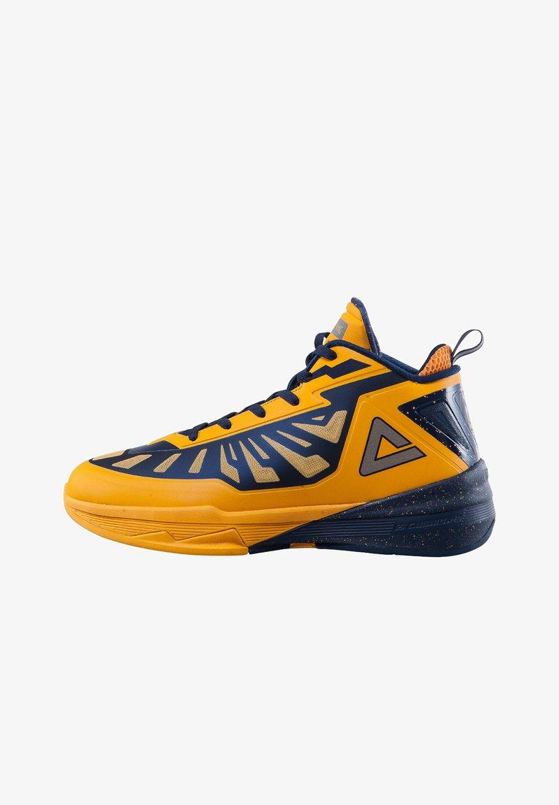 PEAK - LIGHTNING III - Basketball shoes - gelb - dunkelblau