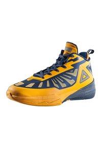 PEAK - LIGHTNING III - Basketball shoes - gelb - dunkelblau - 1