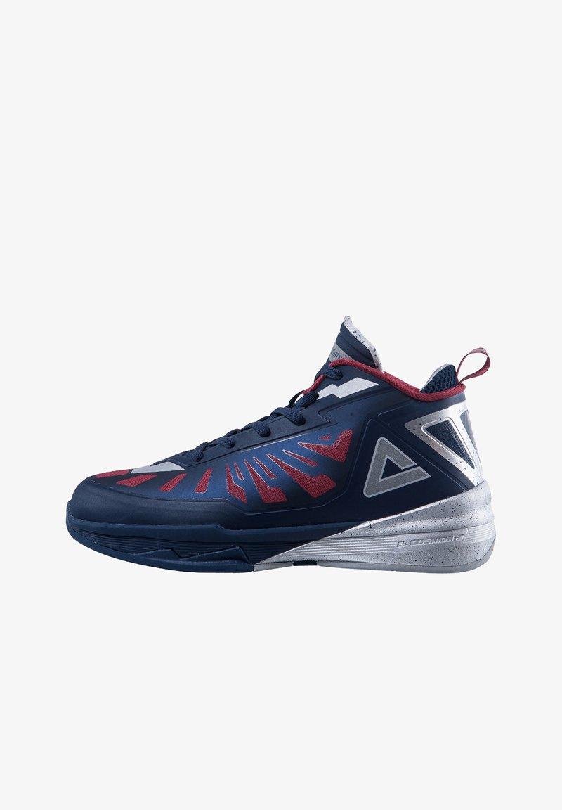 PEAK - LIGHTNING III - Basketball shoes - dunkelblau - silber