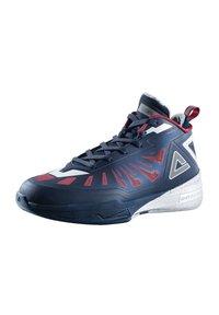 PEAK - LIGHTNING III - Basketball shoes - dunkelblau - silber - 1