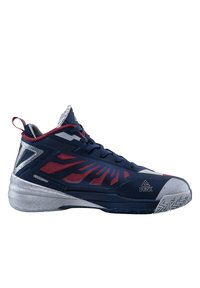 PEAK - LIGHTNING III - Basketball shoes - dunkelblau - silber - 4