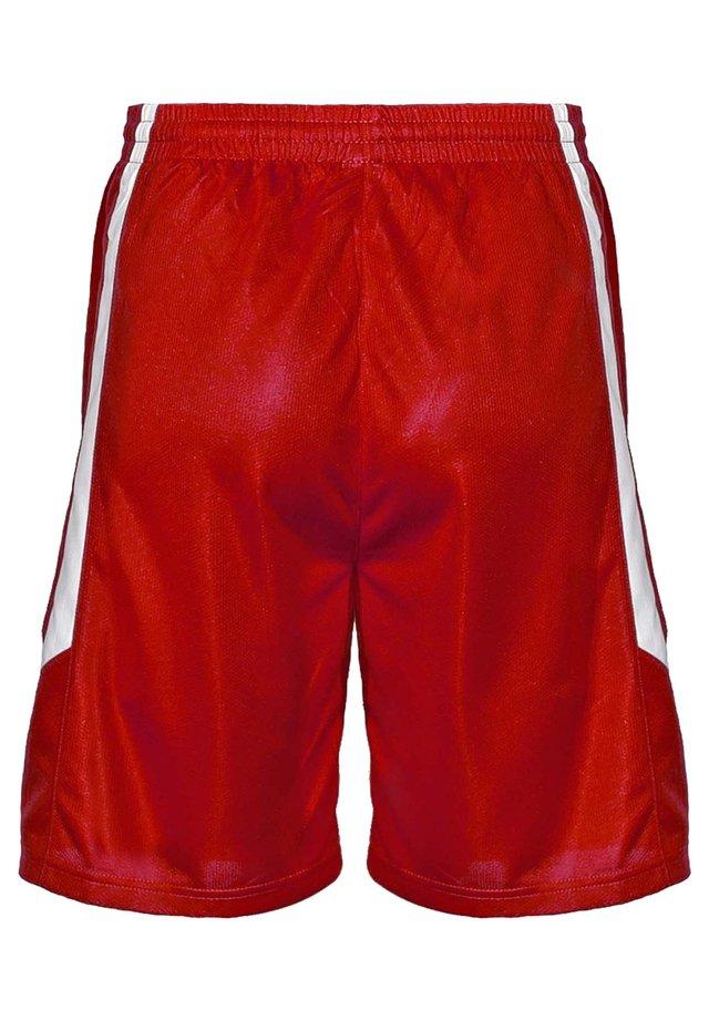 Sports shorts - rouge-blanc