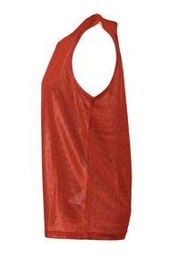 PEAK - Sports shirt - rouge-blanc - 2
