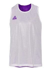 PEAK - Sports shirt - violet-blanc - 3