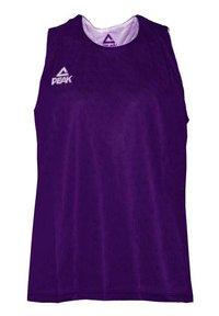 PEAK - Sports shirt - violet-blanc - 0
