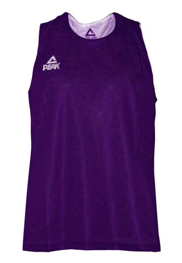 Sports shirt - violet-blanc