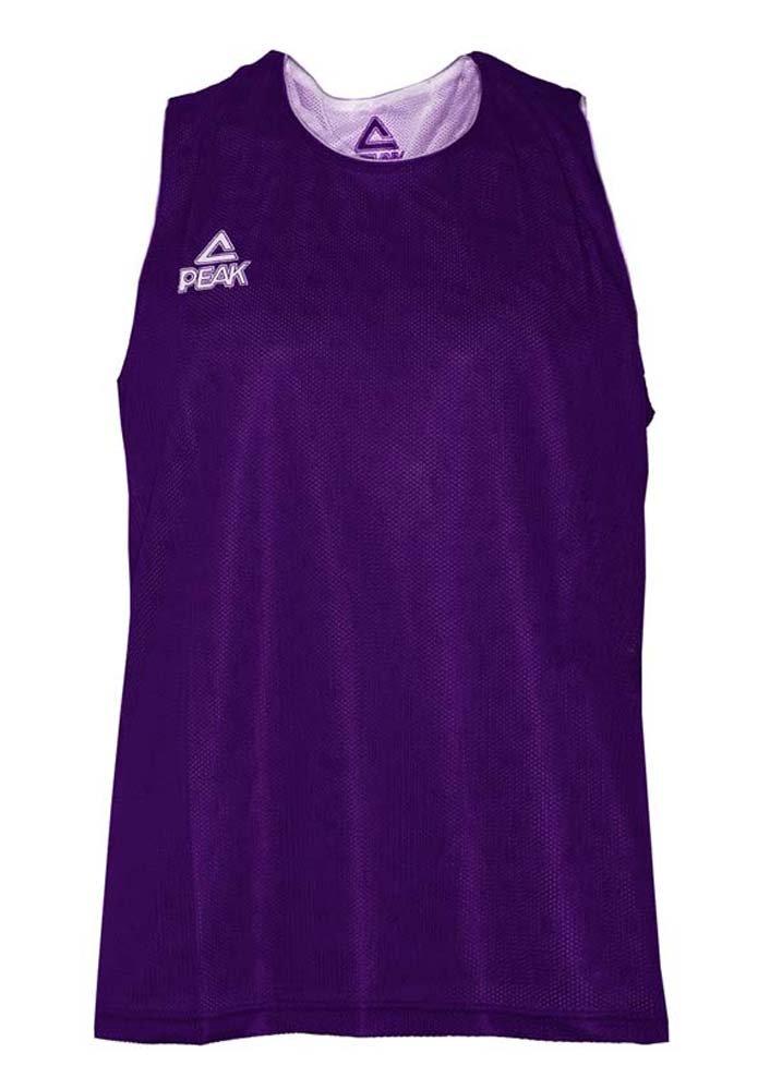 PEAK - Sports shirt - violet-blanc
