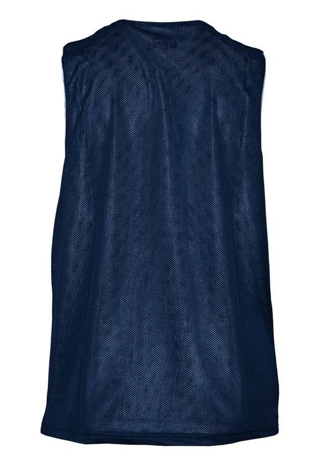 Sports shirt - bleu foncé-blanc