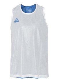 PEAK - Sports shirt - blauw-wit - 3