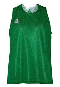 PEAK - Sports shirt - vert-blanc - 3