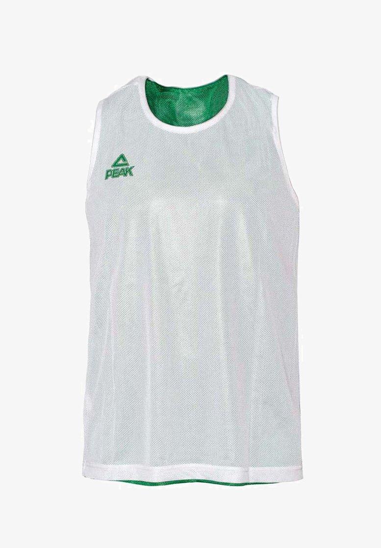 PEAK - Sports shirt - vert-blanc