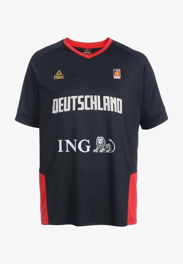 National team wear - noir-rouge