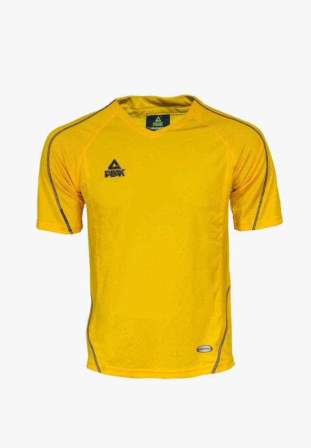 RUNNING-SHIRT ENERGY - Print T-shirt - gelb