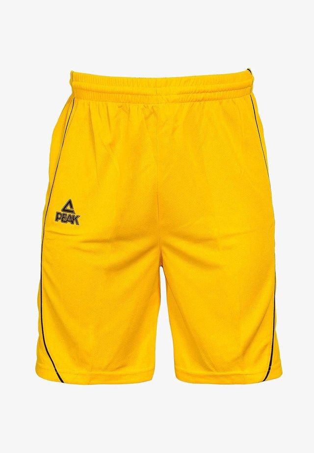 Sports shorts - gelb/schwarz