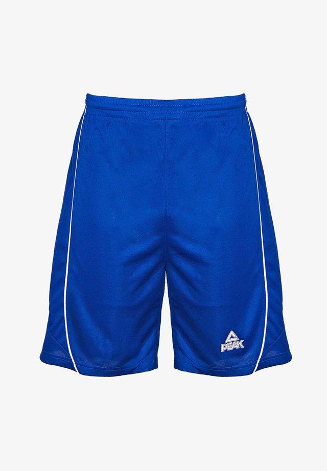 Sports shorts - blau/weiß