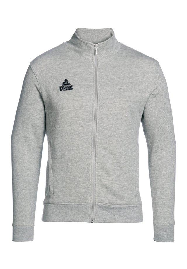 Fleece jacket - Grau