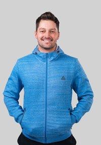PEAK - Zip-up hoodie - bleu - 0