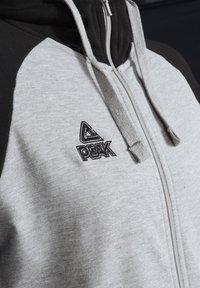 PEAK - Zip-up hoodie - grau schwarz - 2