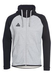 PEAK - Zip-up hoodie - grau schwarz - 0