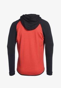 PEAK - Zip-up hoodie - rot schwarz - 1