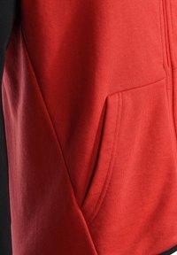 PEAK - Zip-up hoodie - rot schwarz - 3
