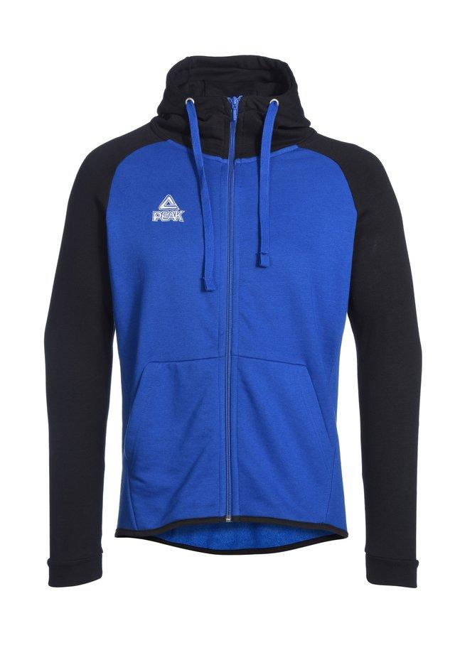 Zip-up hoodie - blau schwarz