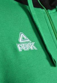 PEAK - Zip-up hoodie - grün schwarz - 2