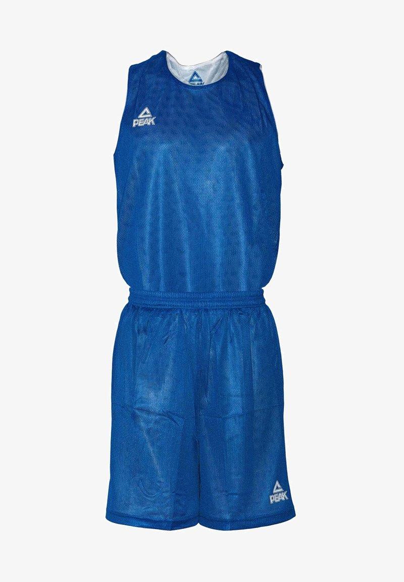 PEAK - MIT ATMUNGSAKTIVER FUNKTION - Sports shorts - royal blue/white