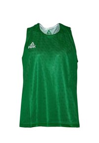 PEAK - MIT ATMUNGSAKTIVER FUNKTION - Sports shorts - green/white - 1