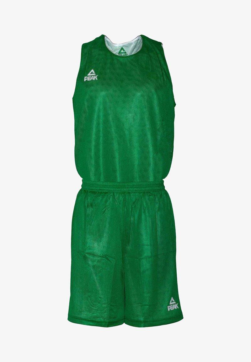 PEAK - MIT ATMUNGSAKTIVER FUNKTION - Sports shorts - green/white