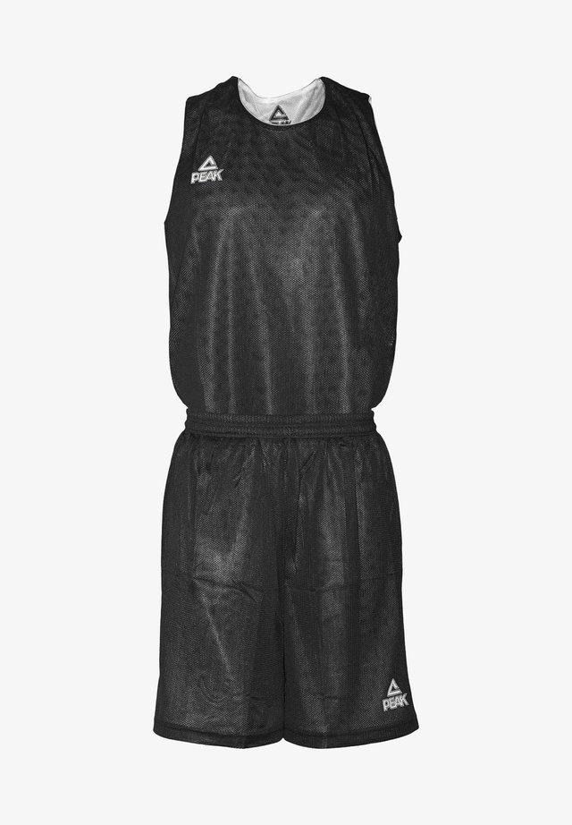 MIT ATMUNGSAKTIVER FUNKTION - Sports shorts - black/white