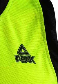 PEAK - SET  - Sports shorts - neon-schwarz - 6
