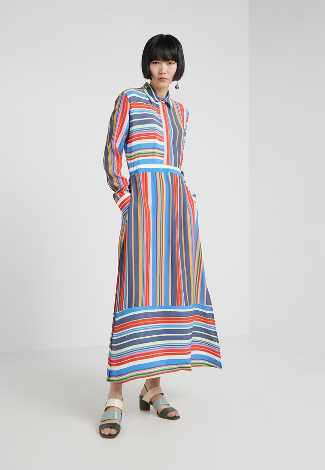 STRIPE PRINT SLINKY DRESS - Maxikleid - multi-coloured