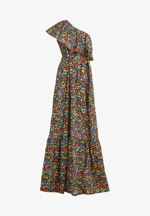 POPPY LIBERTY ONE SHOULDER RUFFLED GOWN - Maxi šaty - multicolor