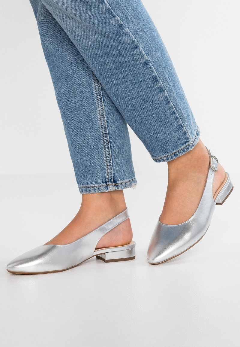 Peter Kaiser Wide Fit - WIDE FIT FASELLE - Pumps - silber corfu
