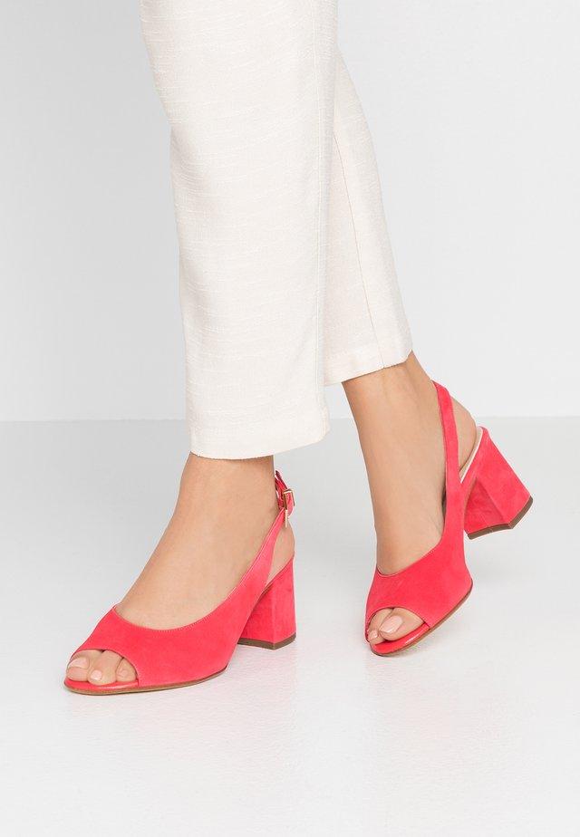 WIDE FIT FOLINA - Sandals - sharon