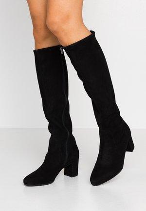 WIDE FIT BARLA - Vysoká obuv - schwarz