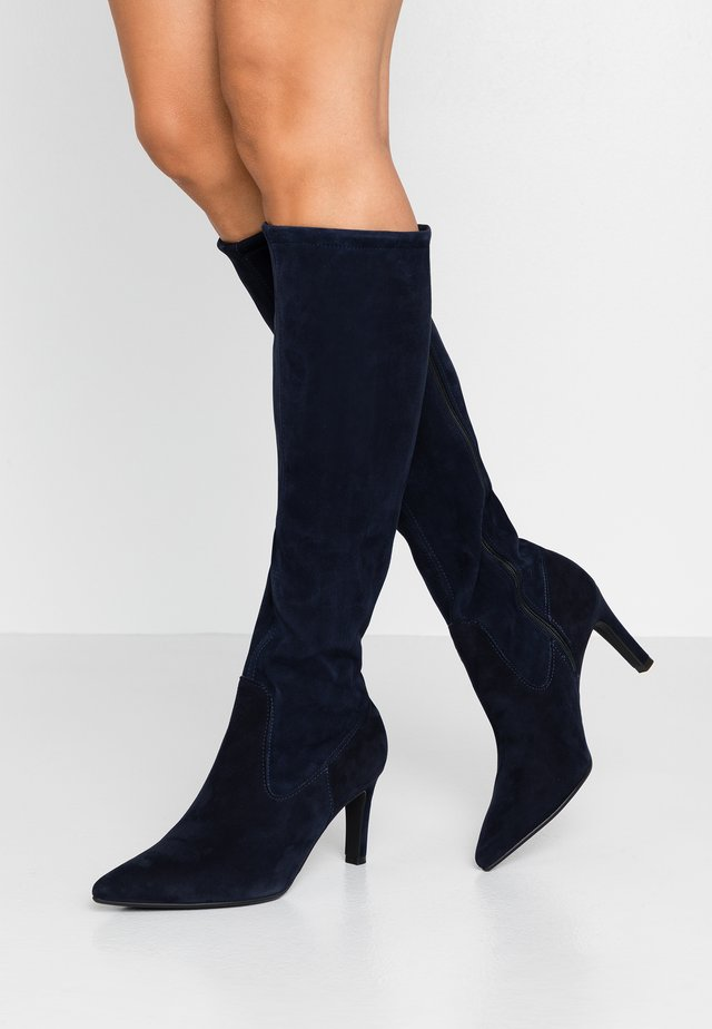 WIDE FIT AISHA - Stiefel - navy