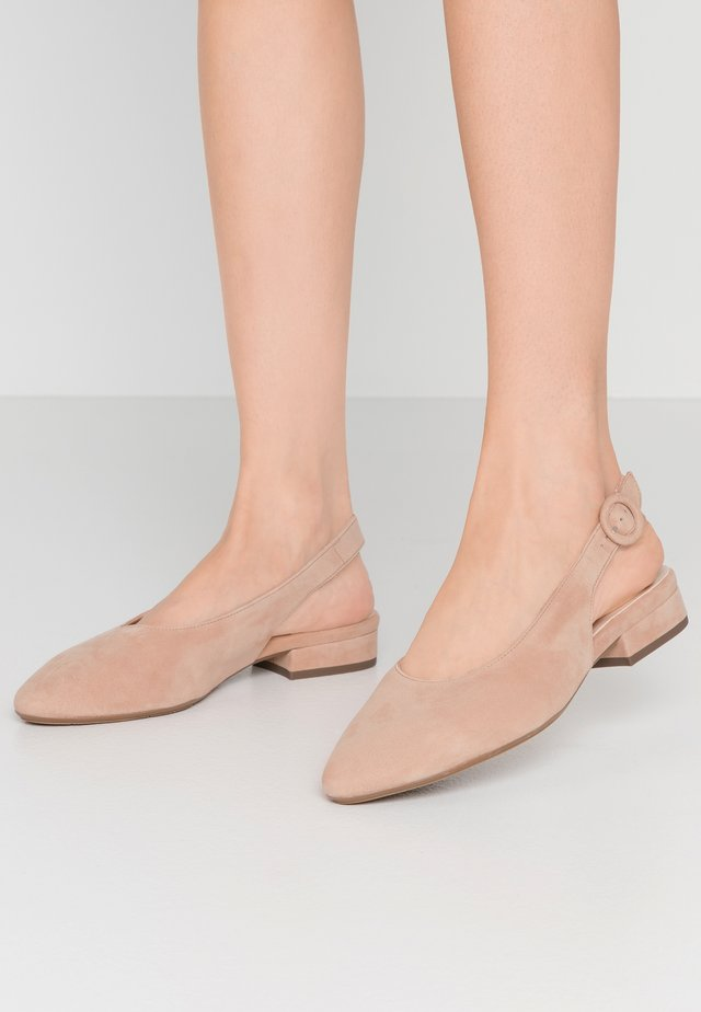 WIDE FIT FASELLE - Slingback ballet pumps - bicotti